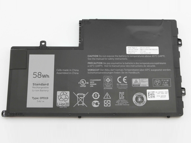 Dell 0PD19電池/バッテリー