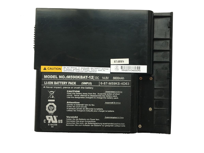 Clevo M590KBAT-12 バッテリー