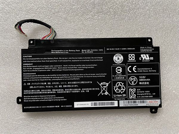 Toshiba PA5208U-1BRS バッテリー